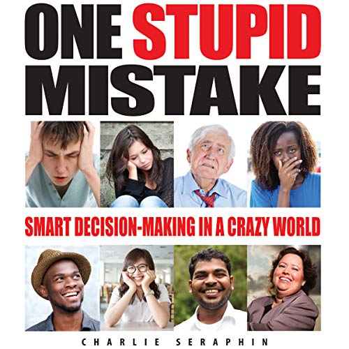 One Stupid Mistake audiobook cover art