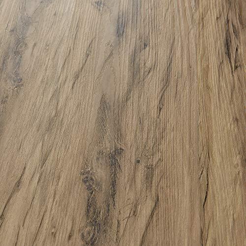 neu.holz Vinyl Laminat ca. 4 m² 'Nordic Oak' Bodenbelag Selbstklebend rutschfest 28 Dekor-Dielen für Fußbodenheizung