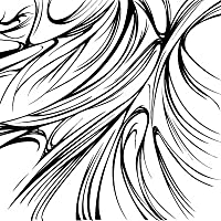 wishネイルシール 手描き曲線
