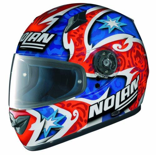 X-Lite Helm, Rot/Weiß/Blau (Replica N-Com), XXL