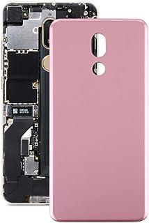 Battery case Jrc Battery Back Cover for LG Stylo 5 Q720 LM-Q720CS Q720VSP(Black) Mobile phone accessories (Color : Pink)