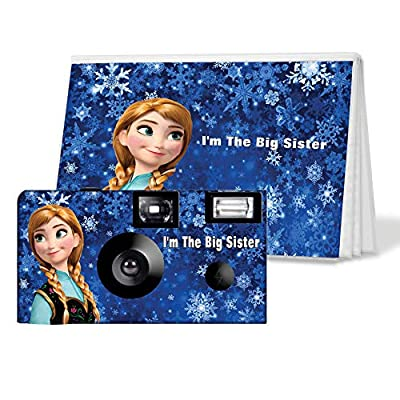 I'm The Big Sister Camera and Photo Album Set - Frozen Anna (PK708) from CustomCameraCollection