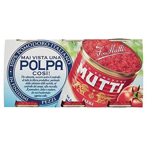 Mutti Polpa di Pomodoro 3 x 400 g