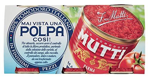 Mutti Polpa di Pomodoro, 3 x 400g
