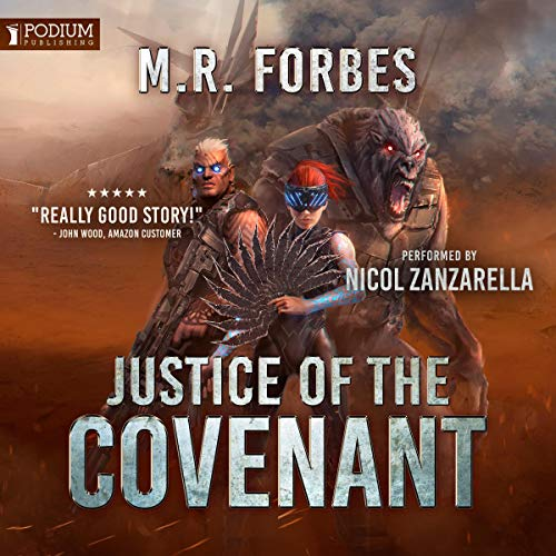 Justice of the Covenant audiobook cover art