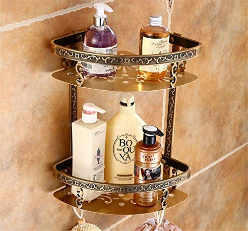 ZYC Juego de accesorios de baño de bronce antiguo, de aluminio, toallero, portarrollos de papel higiénico, ganchos, 8 unidades