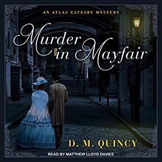 Murder in Mayfair audiobook cover art