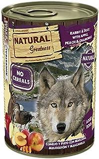 Natural Greatness Comida Húmeda para Perros de Conejo y