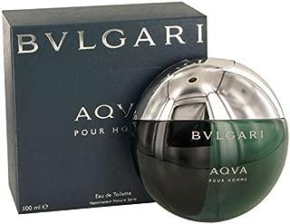 Bvlgarì Aqva Pour Homme Eau De Toilette Spray for Men, EDT 3.4 Ounces 100 ML