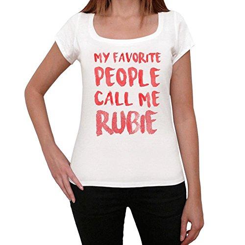 One in the City Rubie Camiseta Mujer Camiseta con Palabra Camiseta Regalo