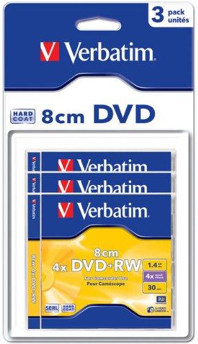 Verbatim DVD+RW Rohlinge, 4X, 1.46GB, Kratzfest