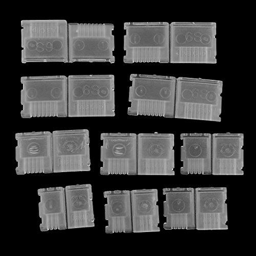 Hellery Protector de Enchufe de Carga de Equilibrio de Clip AB de 10 Piezas para Batería de Lipo 2S 3S 4S 6S