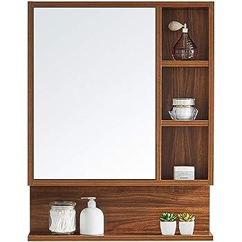 Mirrors Mirror Cabinet 60 80cm Bathroom Mirror Cabinet Toilet Mirror Hidden Wall Mounted Mirror Box With Shelf Mirror Cabinet Wall Mounted Storage Cabinet Wall Mounted Vanity Mirrors Amazon Co Uk Kitchen Home