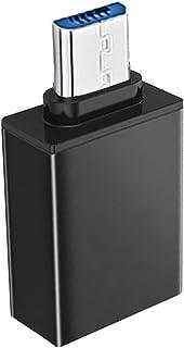 SIREG Micro USB to USB, Micro USB 3.0 OTG Adapter On The Go Adapter Micro USB Male to USB Female Compatible with Samsung S...