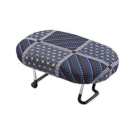 住友産業 コンパクト らくらく正座椅子D-8 ワンタッチ式 紺