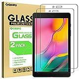GOZOPO Bildschirmschutzfolie für Samsung Galaxy Tab A 8.0 2019 SM-T290/T295 [Kratzfest] Galaxy Tab A 8.0 2019 Panzerglasfolie - 2 Stück