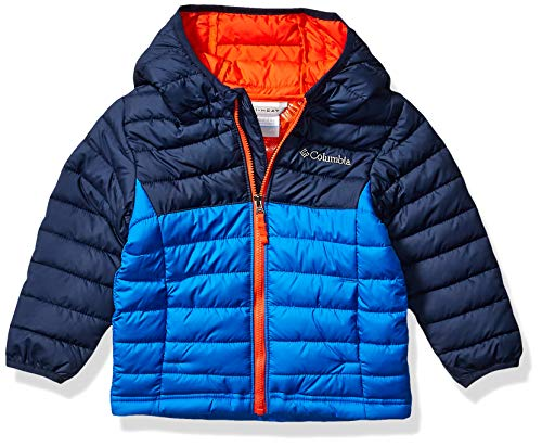 Columbia Doudoune Powder Lite ouatinée veste bébé vêtements bébé, bleu