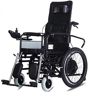 ZHANGYY Sillas de Ruedas eléctricas, Sillas de Ruedas eléctricas Plegables, Sillas de Ruedas motorizadas Scooter para discapacitados Ancianos Movilidad Sillas de Ruedas duraderas Sillas de