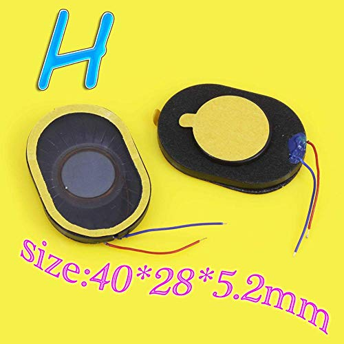 Fantastic Prices! Generic Common Maintenance Parts Earpiece Speaker Ear Oval Loudspeaker with Electr...