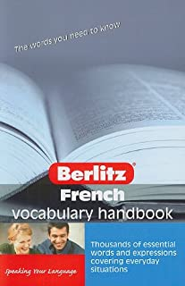 French Berlitz Vocabulary Handbook