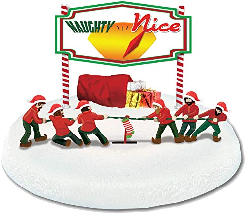 Lionel Christmas, Electric O Gauge Model Train Accessories, Elf Tug of War