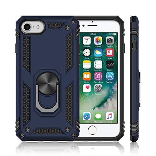 iPhone SE ケース[第2世代] iPhone7 ケース iPhone8 ケース【2020年新型】リング 耐衝撃 頑丈 アウトドア T...