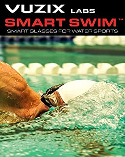 Holiday Sale! Vuzix Smart Swim Goggles, Activity Tracker with Full-Color Smart Display, Lap Timer, Compass, Pace, Distance, Form