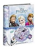 Totum 680197–Disney Frozen, La Regina del Ghiaccio Brillantini Magneti Set bricolage