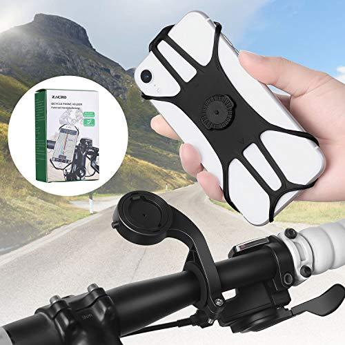 Zacro Handyhalterung für Fahrrad, Motor und Kinderwagen, 360 ° drehbar, für Handy, Motorrad, Fahrradlenker, für iPhone 11 / Pro MAX/X/XS/XR/XS MAX/ 8 Plus, Samsung S20/S10/S10e und 4