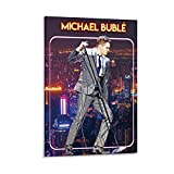 YUANZHIG Michael Buble Gitarristen-Poster, dekoratives