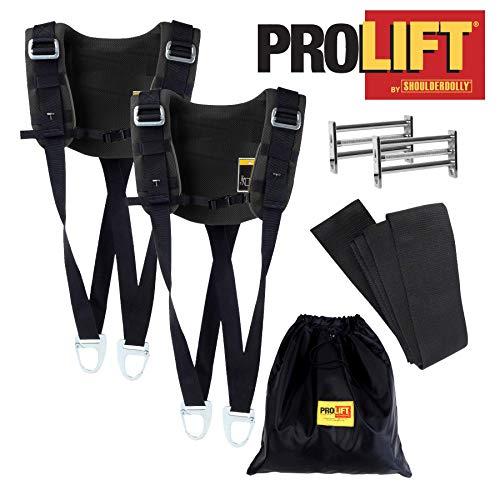 Nielsen Products Pro Lift 2 Personen Schwerlast ShoulderDolly Tragegurt, Transportgurt, Hebegurt für Gegenstände bis zu 450 kg, HD3500