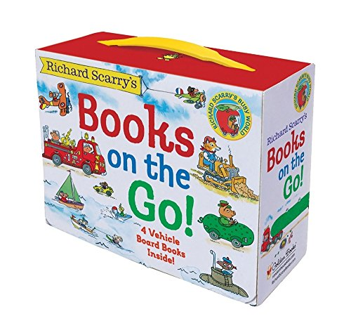 Richard Scarry's Books on the Go: 4 Board Books