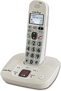 Clarity D714 Amplified Cordless Phone with Digital Answering System