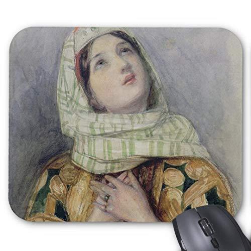 Mousepad Anti-Rutsch-Gummi Gaming Mauspad rechteckig Mauspad für Computer Laptop-a Junge Dame im türkischen Kleid w c über Bleistift auf Mauspad