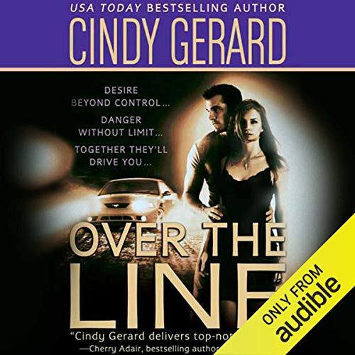 Over the Line audiobook cover art