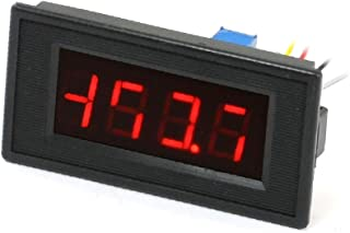 X-DREE DC 50mA-200mA 3 1/2 Red LED Display Digital Panel Ammeter Amperemeter (669b0bfe-a222-11e9-8d7c-4cedfbbbda4e)