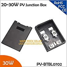 Gimax 20pcs/Lot Wholesale 2A Solar Junction Box 20-30W for Small Power Solar Panel, 20-30W Solar Panel Connecting Box, PV Terminal Box