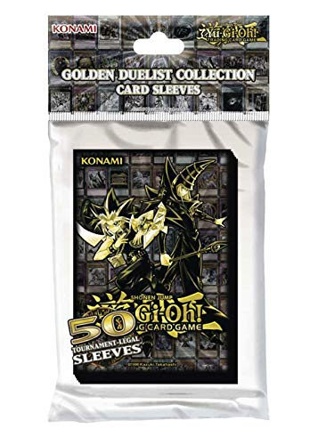 collect-it Yugioh - Karten Hüllen, Card Sleeves Golden Duelist (50 STK.) - Konami