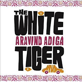 The White Tiger audiobook cover art