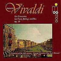 Vivaldi: Six Concertos For Flute  Op. 10/3, RV428; Flute Concerto in Gm, Op. 10/2, RV439