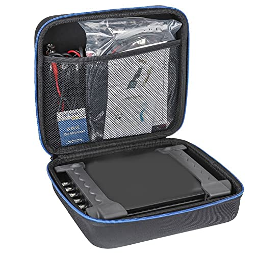 SHAOXI Accesorios de Barco Osciloscopio automotriz 1008C / DAQ/Generador programable Handheld 8 Canales USB Osciloscopios con sonda de Encendido automático. para Barco