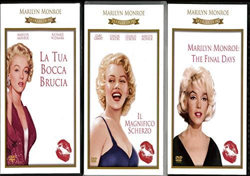 marilyn : il magnifico scherzo - la tua bocca brucia - the final days (3 dvd) box set