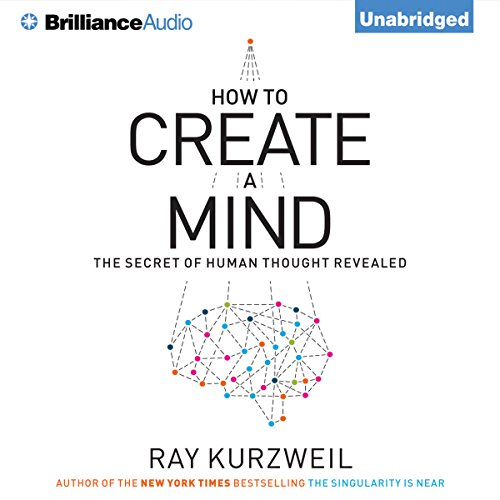 How to Create a Mind audiobook cover art