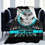 Ruporch Hollywood Undead Blankets Can Be Used Indoors and Outdoors. Super Soft Micro-Pile Blankets. Cute Air-Conditioned Blankets. Suitable for Couch Beds. Adults and Children.