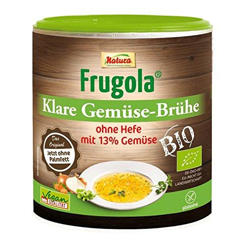 Natura Frugola Bio Klare Gemüse-Brühe ohne Hefe, 200 g