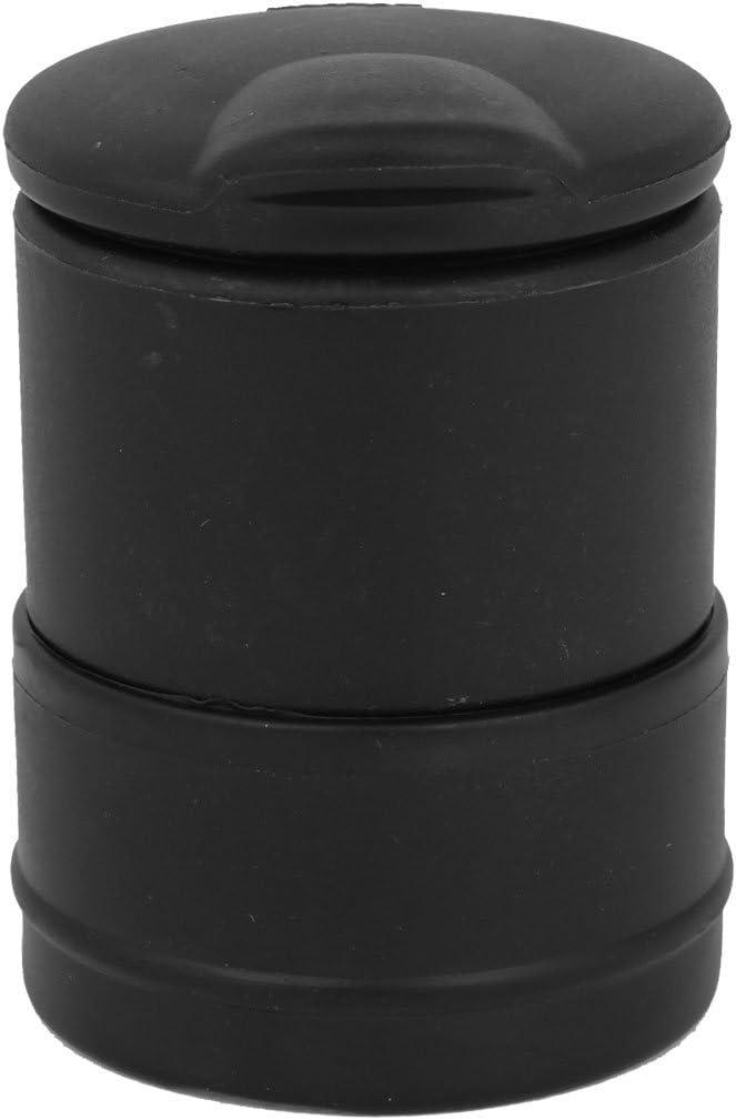 uxcell Genuine Free Shipping Black Plastic Shell Auto Ho Cigarette Smoking Car Ashtray Classic