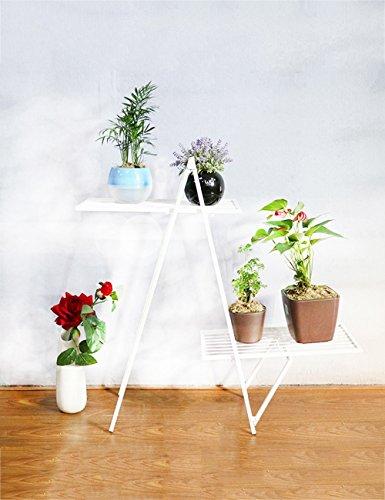 Plante Théâtre Fer de créative simple Plusieurs Niveaux Fleurs Racks atterrissage Pot Rack pour le salon balcon Bonsaï Frame Idée Cadeau Jardiniers 2