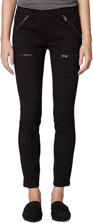 [BLANKNYC] Blank NYC Women's Caviar Zipper Utility Skinny Stretch Jeans, Black