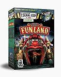 Cranio Creations- Escape Room : Benvenuti a Funland Gioco da Tavolo, Colore Multicolore (Rosso Prevalente), CC175