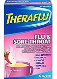 Theraflu Flu & Sore Throa Size 6ct Theraflu Flu & Sore Throat 6ct
